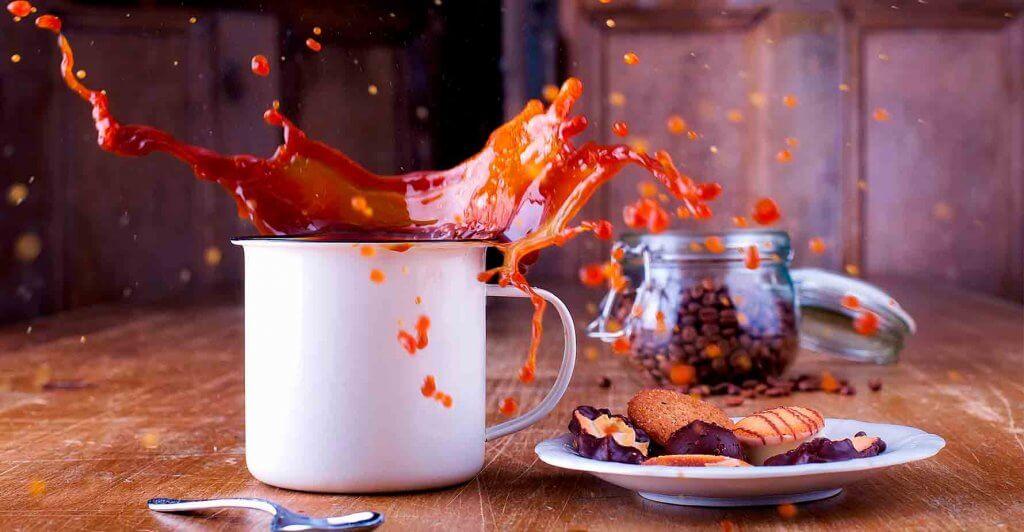 קפה נשפך